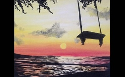 Paint Nite: Swing Into Summer
