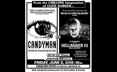 Candyman & Hellraiser III (35mm Double Feature)