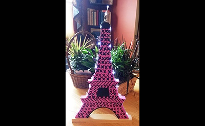 Lighted Eiffel Tower Project