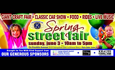 The Franklin Square Kiwanis Spring Street Fair