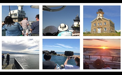 3.5-Hour Lighthouse Excursion, Seal Search & Sunset Cruise
