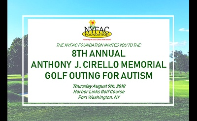 8th Annual Anthony J. Cirello Memorial Golf Outing for Autism