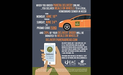 Panera Bread Partners With EAC Network to Deliver Meals on Wheels