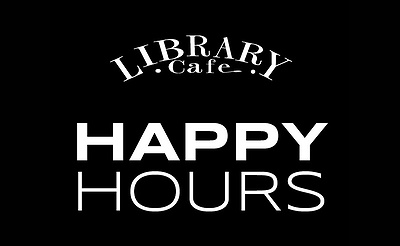 Happy Hour at Library Cafe