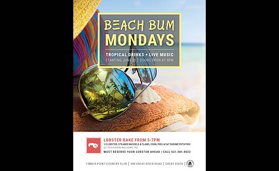 Beach Bum Mondays at Mansion at Timber Point