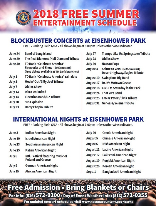 International Nights At Eisenhower Park - Eisenhower park car show