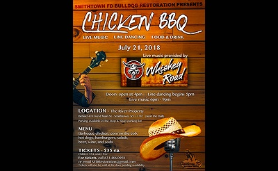 Chicken BBQ with Live Music by Whiskey Road