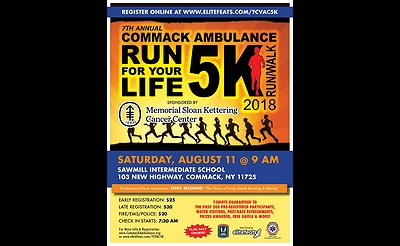 Commack Ambulance Run For Your Life 5k Run/Walk