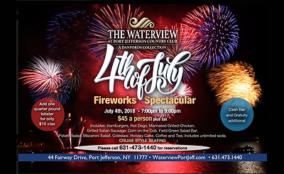 4th of July Fireworks Spectacular at The Waterview
