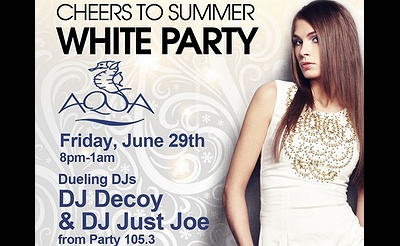 Summer White Party at Danfords