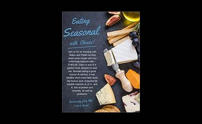 Seasonal Cheese Pairing with Slates & Plates