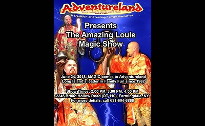 Adventureland Presents: The Amazing Louie Magic Show