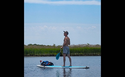 SUP Yoga (Stand Up Paddle-Board)