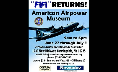 B-29 FIFI Returns to American Airpower Musuem