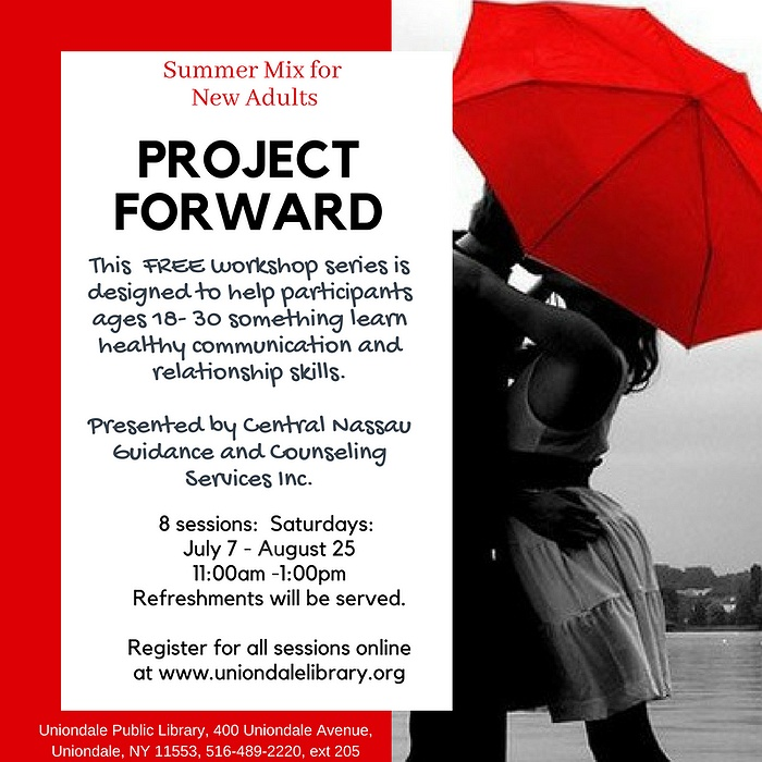 Summer Mix For New Adults Project Forward