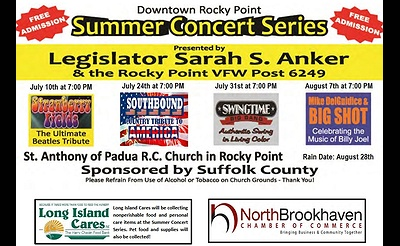 Downtown Rocky Point 2018 Summer Concert Series