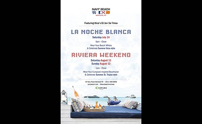 Riviera Weekend Featuring Ibiza's DJ Jon Sa Trinxa at Navy Beach