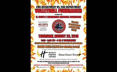 Firefighter Volleyball Tournament