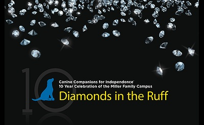 Diamonds in the Ruff Benefiting Canine Companions for Indendence