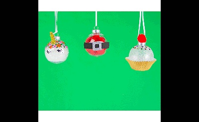 MAKEbreak DIY Christmas Ornaments