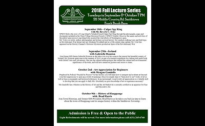 History of Hauppauge with Brad Harris - Fall Lecture Series