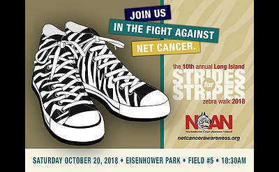 Long Island Strides for Stripes Walk to Fight NET Cancer