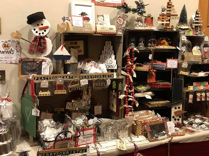 Christmas Craft Show Items.9th Annual Holiday Craft Fair
