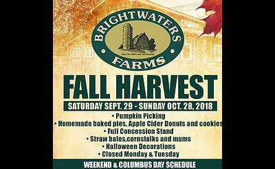 Brightwaters Farms Fall Harvest 2018