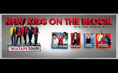 New Kids On The Block at NYCB LIVE