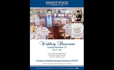 Wedding Showcase at Brentwood Country Club