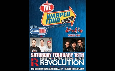 The Warped Tour Band at Revolution