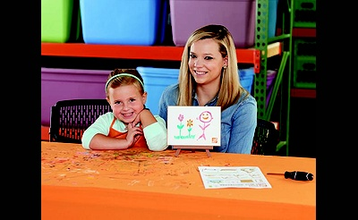 Kids Workshop: Easel with Whiteboard