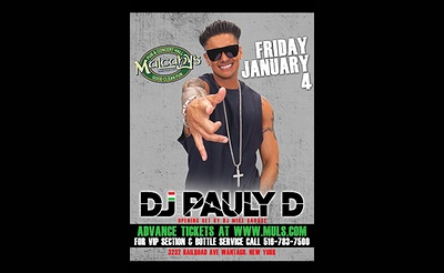 DJ Pauly D at Mulcahy's