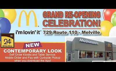 Magic with Cano the Clown - McDonald's Melville Grand Re-Opening Celebration