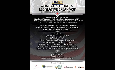 HIA-LI's 41st Annual Meeting & Legislative Breakfast