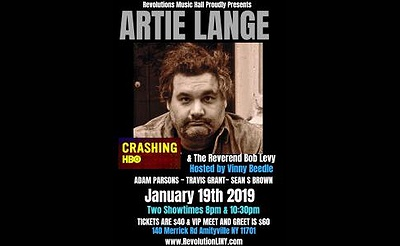Artie Lange at Revolution - Late Show