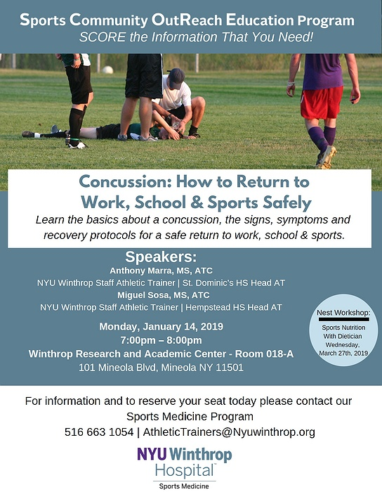 Concussion: How to Return to Work, School & Sports Safely