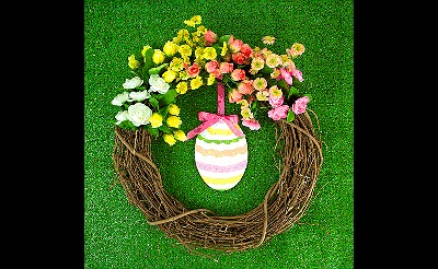 MAKEbreak Some Bunny Loves You Wreath