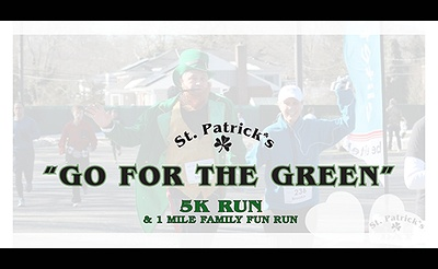 "26th Annual ""Go For The Green"" 5K Run & 1 Mile Family Fun Run"