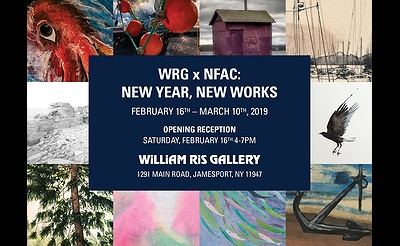 WRG x NFAC: NEW YEAR, NEW WORKS art exhibition