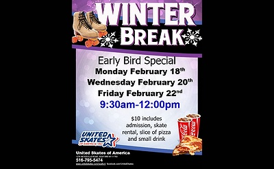 Winter Break Early Bird Special at United Skates of America