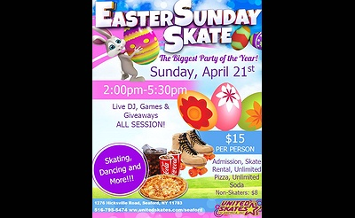 Easter Sunday at United Skates of America
