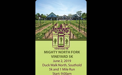 Mighty North Fork Vineyard 5K & 1 Mile Run