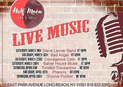 Barrel House Blues at Half Moon Bar & Grill