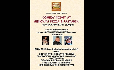 Comedy Night at Genova's