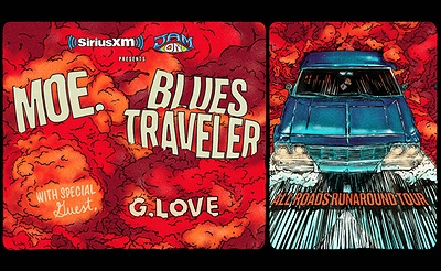 SiriusXM and JamON Presents moe. and Blues Traveler with G.Love