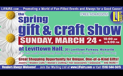 Spring Craft & Gift Show at Levittown Hall