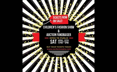 Our Time to Shine! Children's Fashion Show & Auction Fundraiser