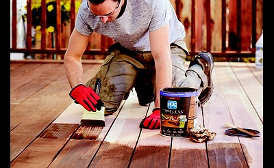 DIY Workshop: Deck and Patio Staining