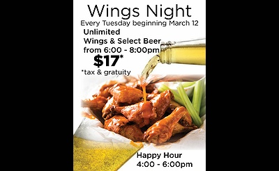 Wing Night at Desmond's